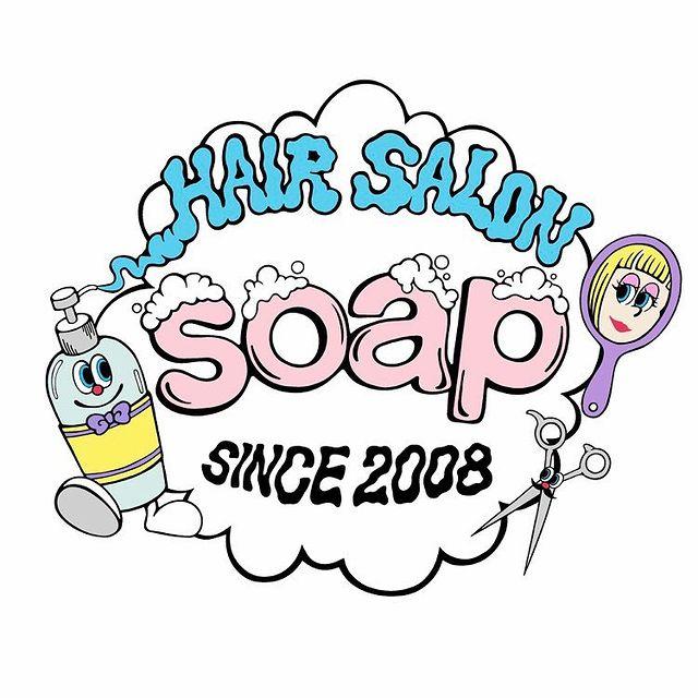 高松市の美容室soapのロゴ